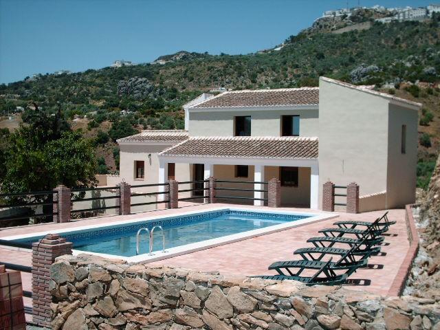 Villa in Spain, Comares: Villa and Pool