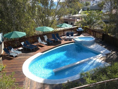 Villa in Spain, Miraflores: Fabulous swimming pool and sun deck