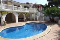 Villa in Spain, Torrenueva: Pool area.