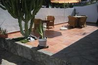 Apartment in Spain, Torviscas: Sunny and private front terrace