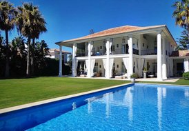 luxury Beach villa Marbella