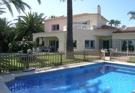 Holiday villa 34121083 with protected private pool Marbella