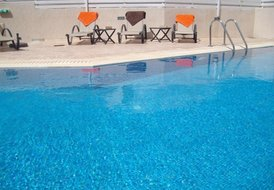 Knights Apartment in Central Pernera with wifi & pool