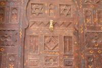 Riad in Morocco, Essaouira: Front door to Dar Noelis