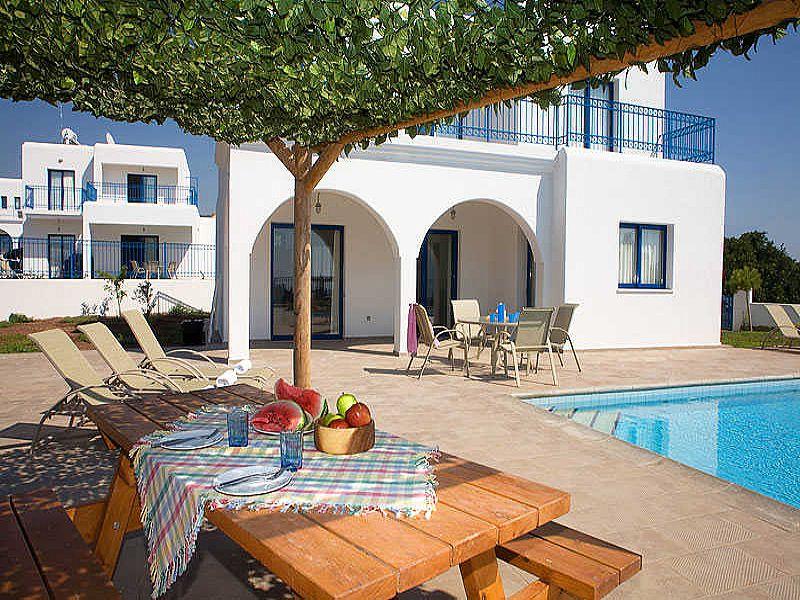 Villa in Cyprus, Agios Georgios: Villa, Patio & Pool