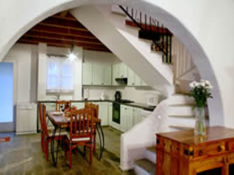Villa in Cyprus, Miliou: Villa Clarissas View - Kitchen area