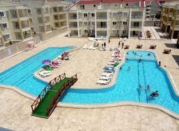 Apartment in Turkey, Altinkum: Outdoor unheated pool