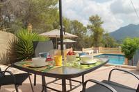 Villa in Spain, Gandia: Breakfast with a view. Enjoy!