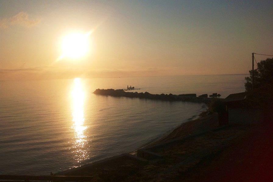Villa in Greece, Zakynthos: Sunset