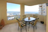 Apartment in Spain, Estepona East: Picture 1 of Terrace with lovely sea views