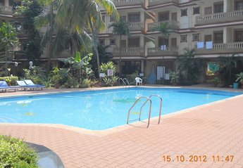 2 bedroom Apartment for rent in Candolim