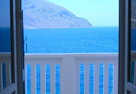 House in Kalymnos, Greece