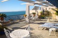 Apartment in Spain, Estepona East: Picture 1 of Terrace, Gibraltar in the distance