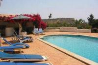Villa in Portugal, Praia da Luz: Large pool terrace with great views