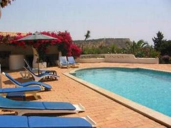 Villa in Portugal, Praia da Luz: Large pool terrace with great views