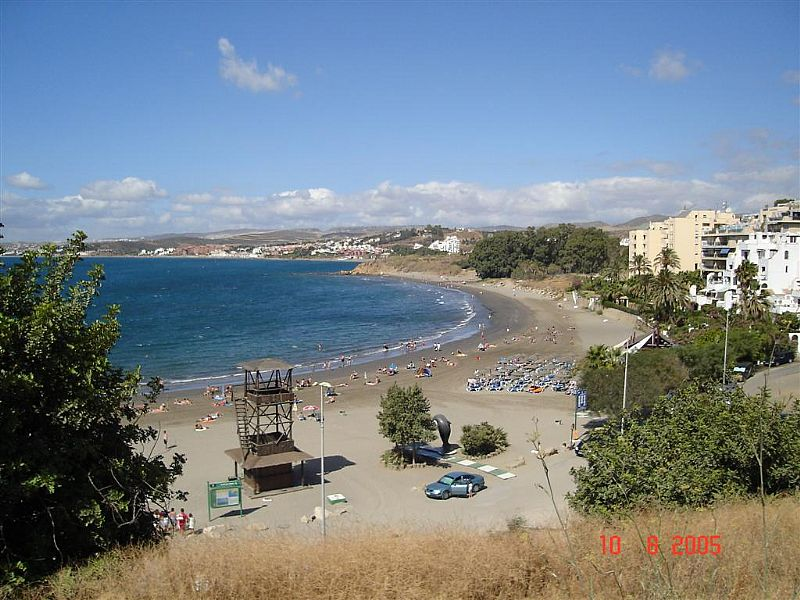 Apartment in Spain, La Gaspara: Playa Cristo is a 5 mins drive. 2 beach restaurant/bars.