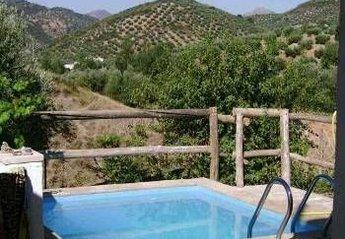 Farm House in Spain, Fuensanta de Martos: Pool and back views from patio