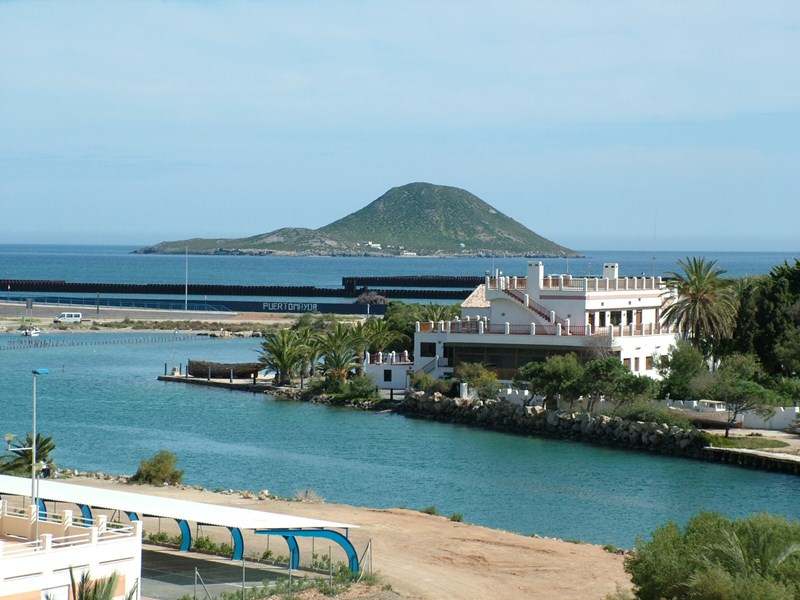 Apartment in Spain, Tomas Maestre Marina: The View from the main terrace out towards the Med and t..