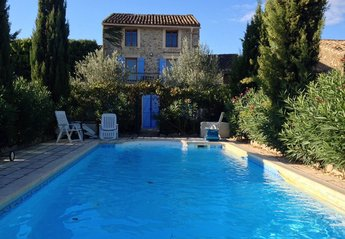 Village House in France, Minerve: The Pool