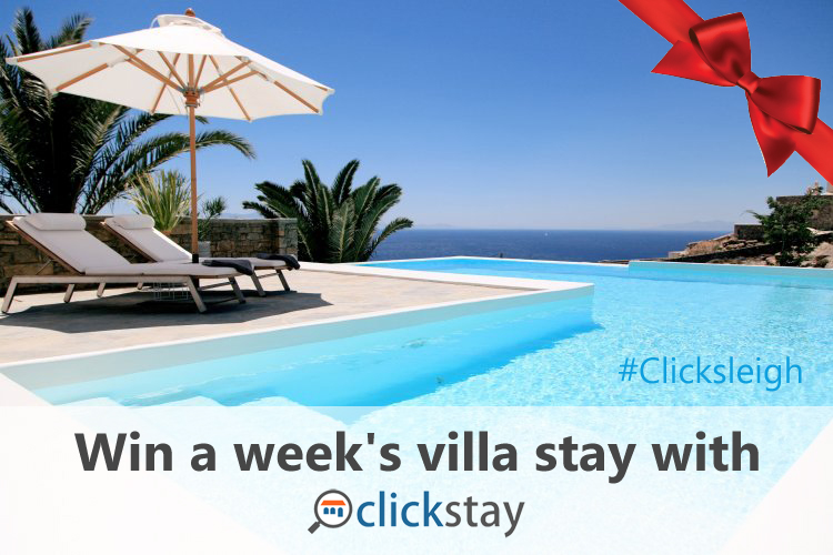 #Clicksleigh – Win A £5k Stay In Mykonos