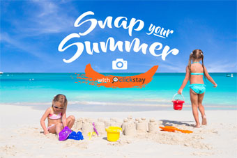 Snap Your Summer Photo Competition With Clickstay
