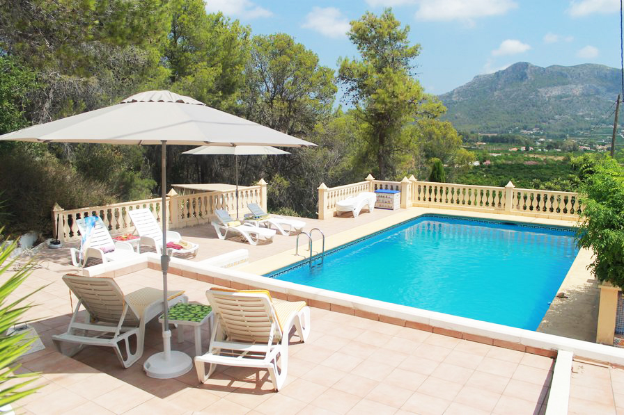 Spain holiday villa